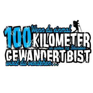 100 Kilometer Marsch Geschenk Finisher Wanderer