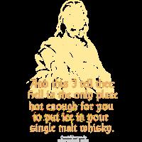 Whisky T Shirt Single Malt & Eis