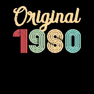 Jahrgang 1980 Geburtstag Geschenk 40 Jahre
