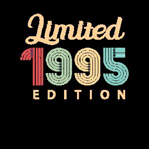 Jahrgang 1995 Geburtstag Geschenk 25 Jahre Retro