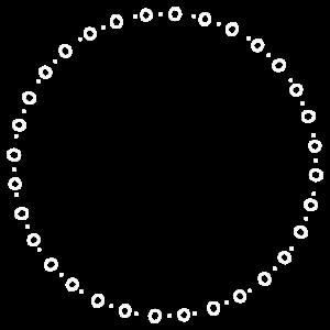 Kreis - Ring - Form - Rund - Weiße Kreise