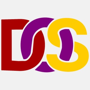 Retro MS DOS Logo