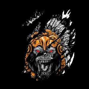 Indian Ape Indianer Affe