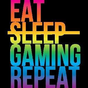 Gamer - Eat sleep repeat3