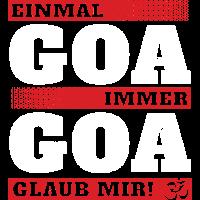 Goa - Einmal und immer M