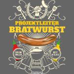 Grill T Shirt Projektleiter Bratwurst |für Griller