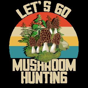 Gehen wir auf Pilzsuche