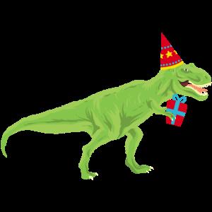 Dino T-Rex Geburtstag Dinosaurier Kind Lustig Tier