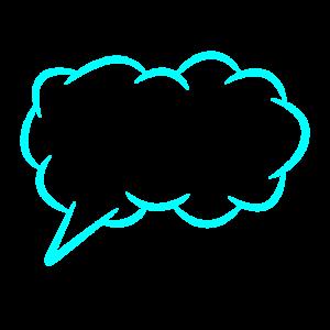 Sprechblase Gedankenblase