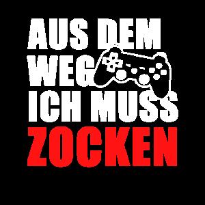 Spruch Zocken Videospiele Gaming