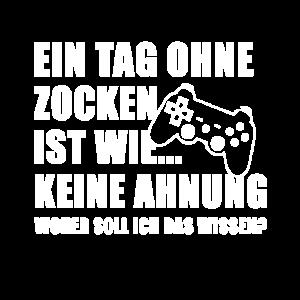 Gaming Zocken Videospiele Spruch