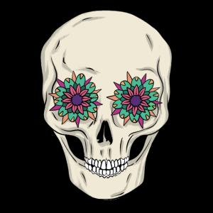 Blumen Skull