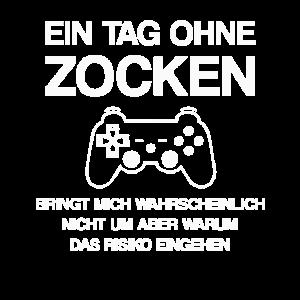 Zocken Gaming Spruch Videospiele