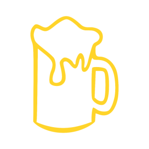 Bier Illustration Alkohol saufen Geschenk