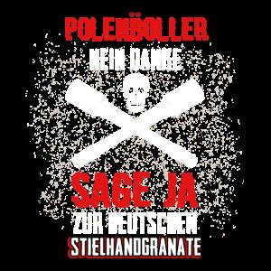 Polenböller Silvester Feuerwerk Deutsche Granate
