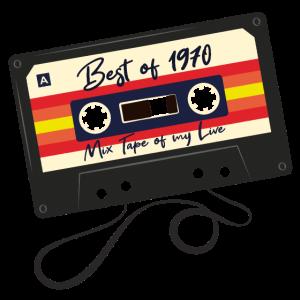 Best of 1970 Geschenk zum 50. Geburtstag
