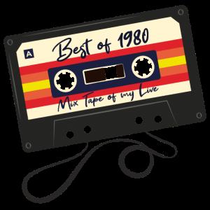 Best of 1980 Geschenk zum 40. Geburtstag
