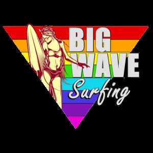 Surfing Surfer girl / Cooles t-shirt /Sprüche/Gift