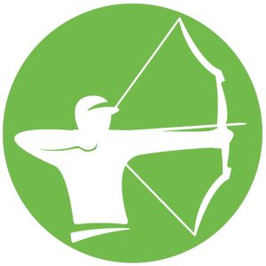 Bogenschiessen Bogenschuetze Bogensport shirt