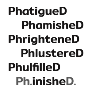Ph.inishe.D. Promotion