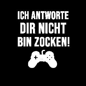 Gaming Zocken Spruch Videospiele