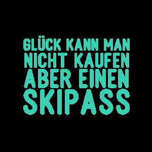 Skipass Kaufen Spruch Glück Skispringen Skifahren