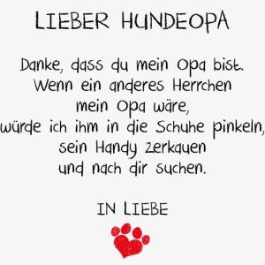LIeber Hundeopa