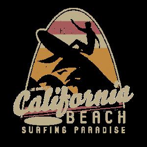 California Beach Surfing Paradise