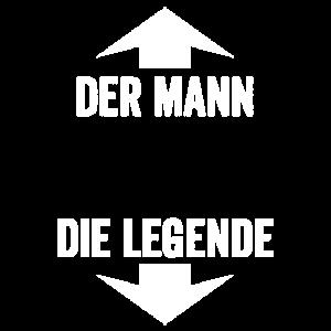 Mann Legende Lustig