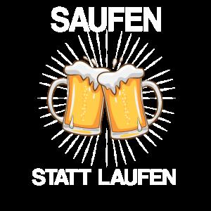 Party Bier Saufen Spruch