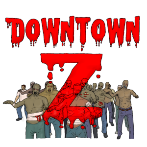 Downtown Z Comic cover Zombiehorde