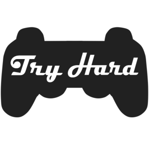 Try hard Gaming T-Shirt Design