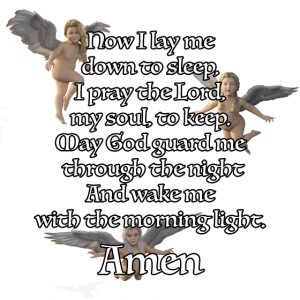 Christian bedtime prayer (good for Children)