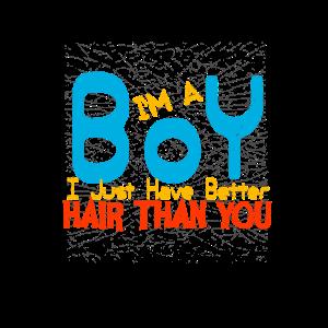 Junge Haare Frisur Style Friseur Haarschnitt Haar