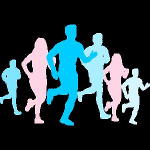 Sport - Jogger Gruppe