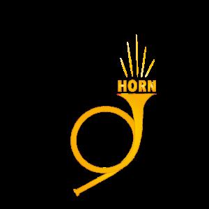 Horn goldig