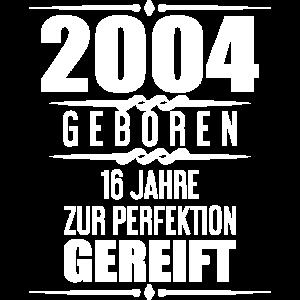 Geschenkidee 16. Geburtstag T-Shirt 16 Jahre Alt