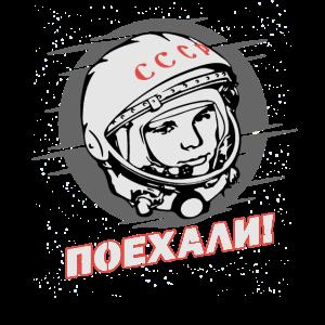 Gagarin - Los Geht's Poehali Kosmonaut Astronaut