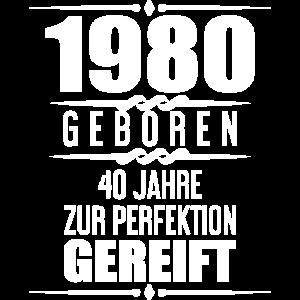 Geschenkidee 40. Geburtstag T-Shirt 40 Jahre Alt