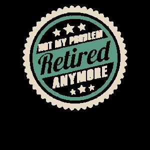Rente Ruhestand Pension Geschenk Retro