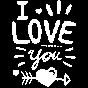 I Love You Valentinstag Geschenk Für Sie Und Ihn