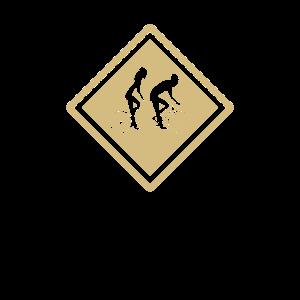 Tandem Fahrrad Symbol, Zeichen fuer Paare