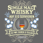 Whisky T Shirt Single Malt
