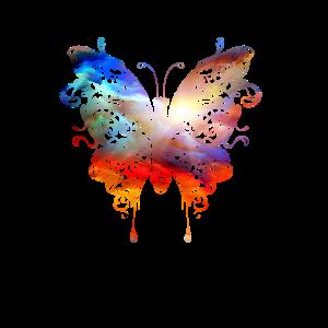 Schmetterling, Wasserfarben