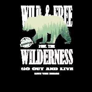 Wild and Free - Rettet die Bären - Camping Natur