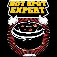 Dutch Oven T Shirt Hot Spot Expert