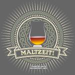 Single Malt Whisky T Shirt Maltzeit