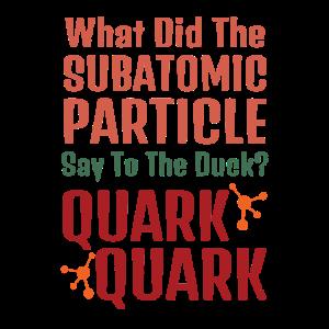 Lustiges subatomares Enten-Quark-Quark-Quarkgeschenk