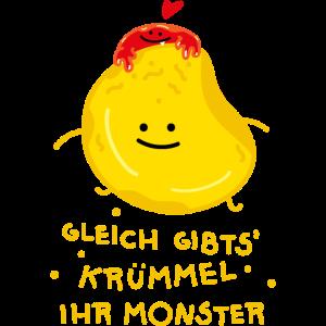 Krümmel für Monster