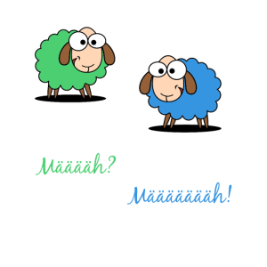 Schaf Mäh